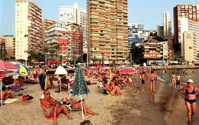 benidorm tourism growing